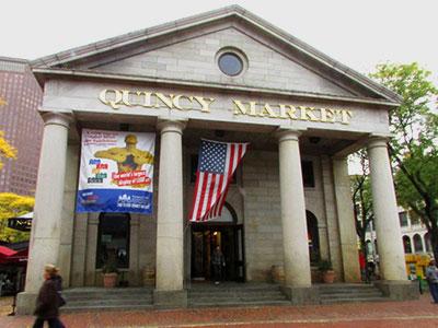 Quincy Market in Boston