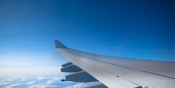 Une aile d'un avion